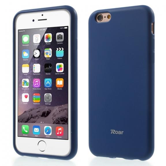 ROAR ochranný matný kryt pro Apple iPhone 6S Plus   6 Plus - tmavě modrý -  možnost vrátit zboží ZDARMA do 30ti dní 9e236bd3c1f
