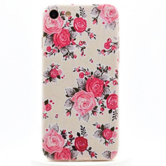 AppleKing ultratenký 0.6 mm kryt na Apple iPhone 7 - Růže - možnost vrátit zboží ZDARMA do 30ti dní