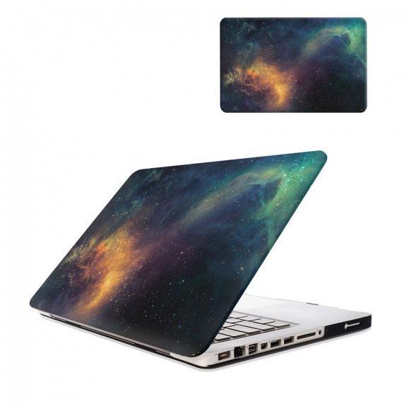 "AppleKing ochranný plastový obal / kryt pro MacBook Air 13"" (model A1369 / A1466) - hvězdná mlho"