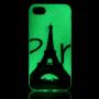 Fosforeskující kryt na Apple iPhone 8 / 7 - Eiffelovka