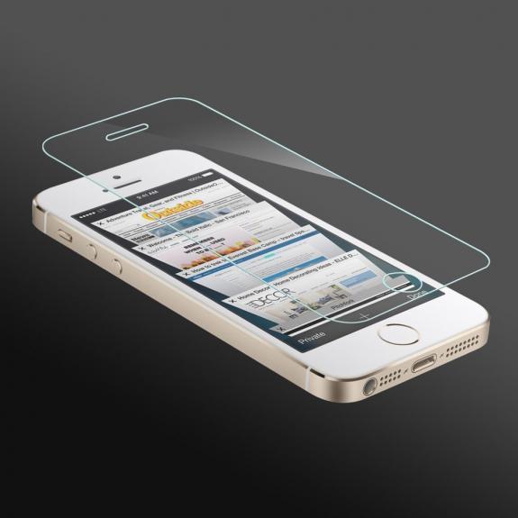 HAT-PRINCE hAT PRINCE ochranné temperované 2.5D sklo na přední a zadní stranu iPhone 5 / 5S / SE - 0,26 mm - možnost vrátit zboží ZDARMA do 30ti dní