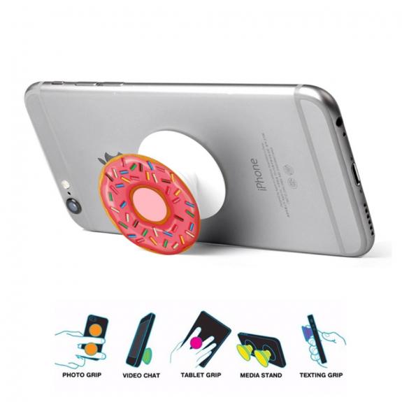 AppleKing držák / stojánek na zadní stranu telefonu pro Apple iPhone - donut - možnost vrátit zboží ZDARMA do 30ti dní