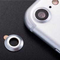 ENKAY hliníková ochrana čočky zadního fotoaparátu pro Apple iPhone 7 - stříbrná