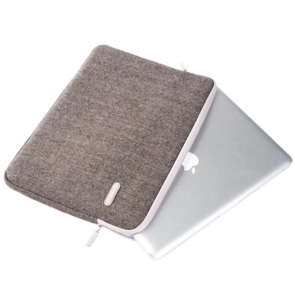 """ORICO tvídová brašna pro Apple MacBook Pro 13"""" / Air 13"""" - béžová - možnost vrátit zboží ZDARMA do 30ti dní"""