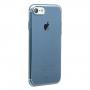 BASEUS tenký poloprůhledný kryt pro Apple iPhone 8 / 7 - modrý