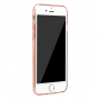 BASEUS tenký poloprůhledný kryt pro Apple iPhone 7 - růžově zlatý