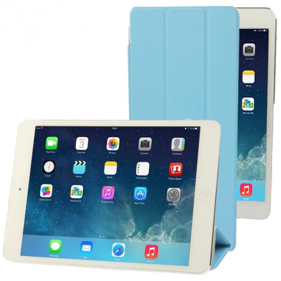AppleKing smart Cover pro iPad mini / mini 2 / mini 3 - světle modrá - možnost vrátit zboží ZDARMA do 30ti dní