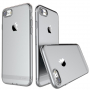 USAMS tenký kryt se záslepkou Lightning konektoru pro Apple iPhone 8 / 7 - černý