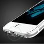 USAMS tenký kryt se záslepkou Lightning konektoru pro Apple iPhone 8 / 7 - průhledný