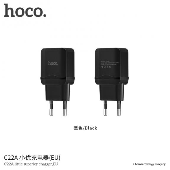 HOCO nabíječka / adaptér pro Apple iPhone / iPod - černá - možnost vrátit zboží ZDARMA do 30ti dní