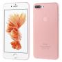 Ultratenký 0.3 mm matný kryt na Apple iPhone 7 Plus  - světle růžový