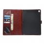 """Luxusní pouzdro s funkcí uspání a prostorem na doklady pro iPad Pro 9.7"""" - hnědé"""