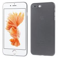 Ultratenký 0.3 mm matný kryt na Apple iPhone 7 Plus  - černý