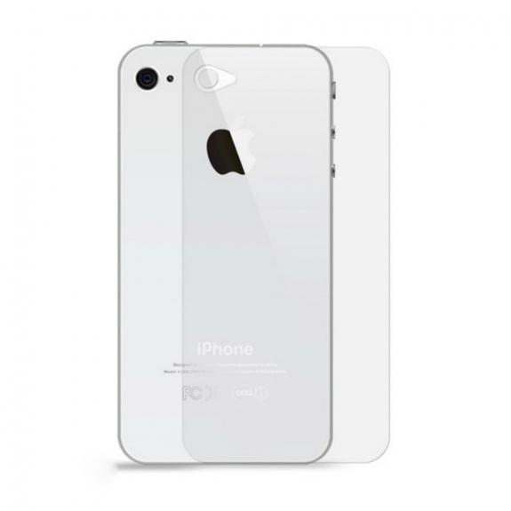 Super odolné tvrzené sklo (Tempered Glass) na zadní část Apple iPhone 4 / 4S - 0.3mm