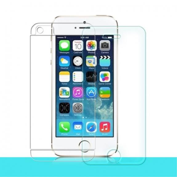 NILLKIN super odolné tvrzené sklo (Tempered Glass) na přední i zadní část Apple iPhone 5 / 5S / SE - možnost vrátit zboží ZDARMA do 30ti dní