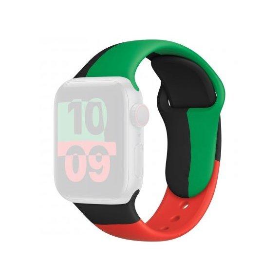 AppleKing silikonový sportovní řemínek pro Apple Watch - 42mm / 44mm - barevný - možnost vrátit zboží ZDARMA do 30ti dní