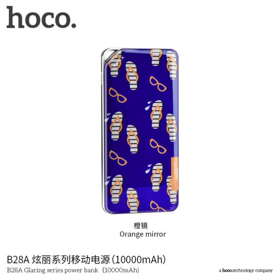 HOCO powerbanka 10000mAh pro Apple zařízení - žabky a sluneční brýle - možnost vrátit zboží ZDARMA do 30ti dní