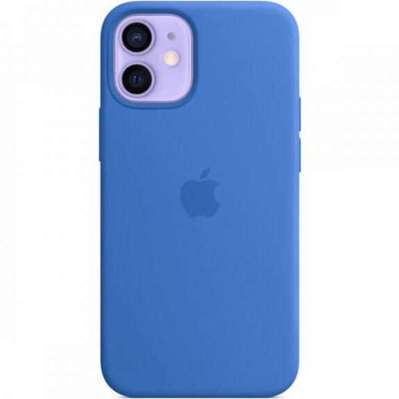 Originální Apple silikonový kryt s MagSafe pro iPhone 12 mini - středomořsky modrý MJYU3ZM/A - možnost vrátit zboží ZDARMA do 30ti dní
