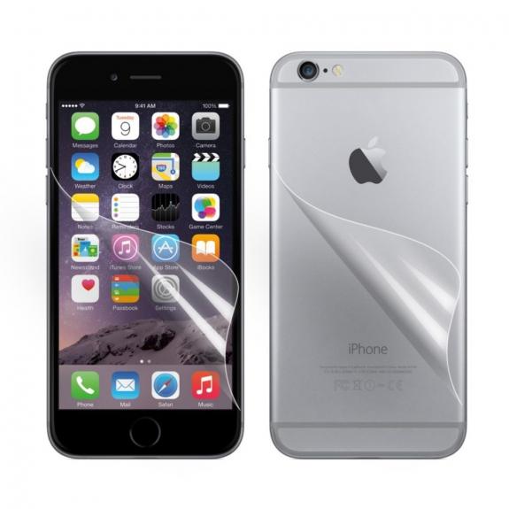 AppleKing ochranná fólie pro Apple iPhone 6 / 6S - čirá HD - přední a zadní - možnost vrátit zboží ZDARMA do 30ti dní