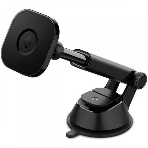 Spigen OneTap magnetický držák na palubní desku s MagSafe pro iPhone 12 / 12 Pro / 12 mini / 12 Pro Max - černý ACP02618 - možnost vrátit zboží ZDARMA do 30ti dní