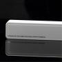 KABO Mini externí baterie / power banka 2600mAh - poutko s kroužkem na klíče - bílá