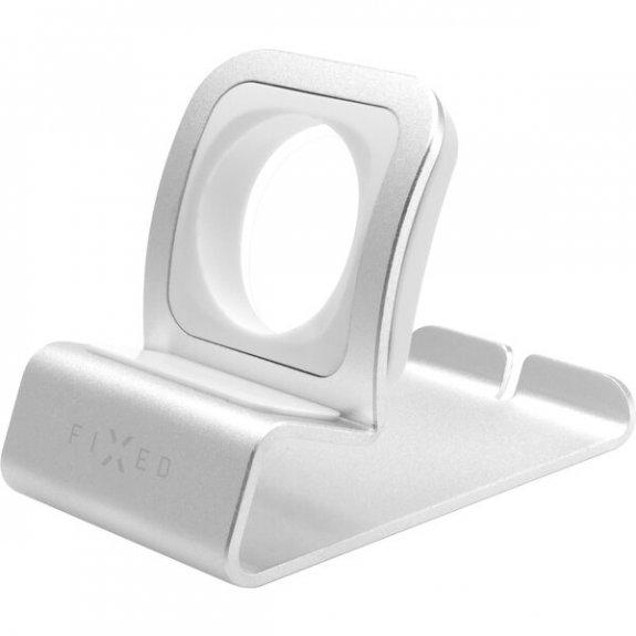 FIXED Frame Watch 2 stojánek na stůl pro Apple Watch - stříbrný FIXFR-W2-SL - možnost vrátit zboží ZDARMA do 30ti dní