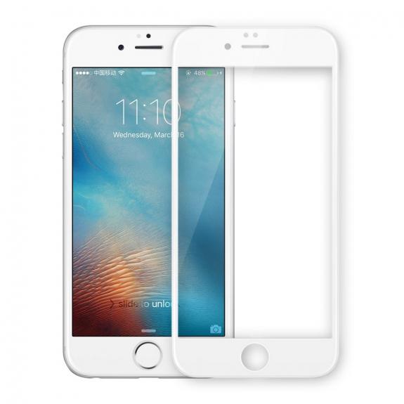 NILLKIN 3D tvrzené sklo (Tempered Glass) pro Apple iPhone 6 / 6S - bílé - možnost vrátit zboží ZDARMA do 30ti dní