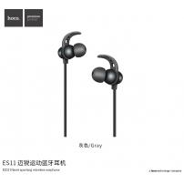 HOCO sportovní bezdrátová sluchátka s ovládáním pro Apple iPhone - šedá