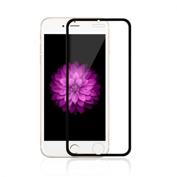 AppleKing super odolné tvrzené sklo (Tempered Glass) na přední část Apple iPhone 6 / 6S - tenký černý rámeček - možnost vrátit zboží ZDARMA do 30ti dní