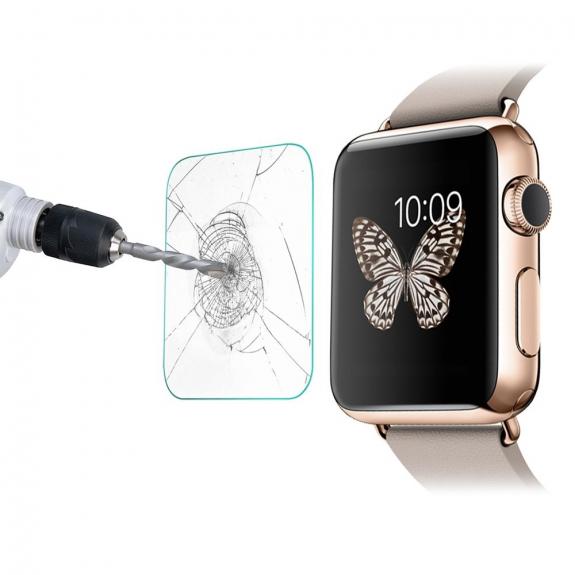 AppleKing super odolné 9H tvrzené sklo (Tempered Glass) LINK DREAM pro Apple Watch 42mm – 0.2mm - možnost vrátit zboží ZDARMA do 30ti dní