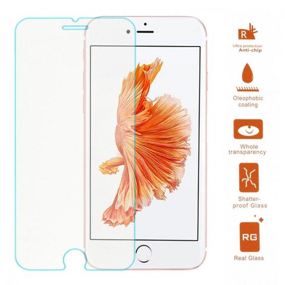 AppleKing super odolné tvrzené sklo (Tempered Glass) na přední část Apple iPhone 7 - možnost vrátit zboží ZDARMA do 30ti dní