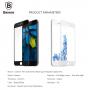 BASEUS super odolné 3D tvrzené sklo (Tempered Glass) na Apple iPhone 8 / 7 - Anti-blue-ray - černé