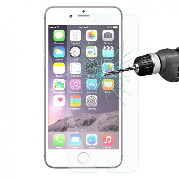 HAT-PRINCE super odolné 2.5D tvrzené sklo (Tempered Glass) na Apple iPhone 7 – zaoblená hrana – 0.26mm - možnost vrátit zboží ZDARMA do 30ti dní