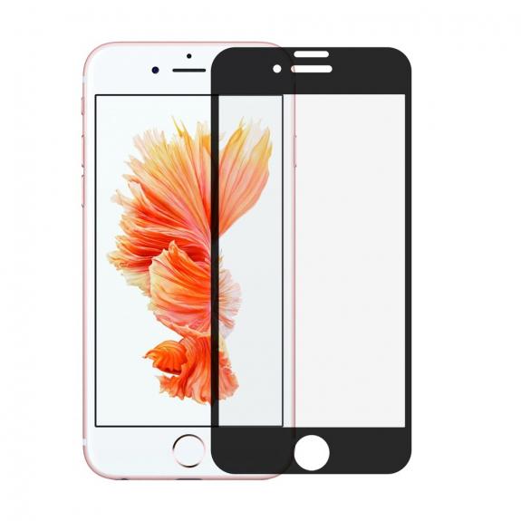 AppleKing super odolné 3D tvrzené sklo (Tempered Glass) na Apple iPhone 7 Plus – černé - možnost vrátit zboží ZDARMA do 30ti dní