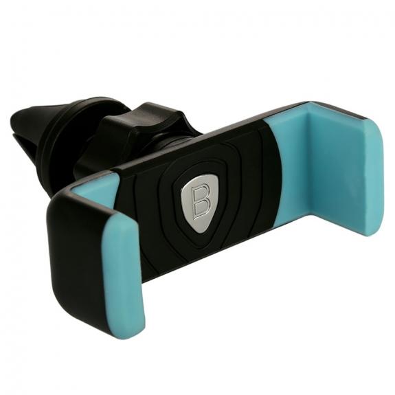 """BASEUS otočný 360° držák na ventilační mřížku auta pro zařízení vel. 3,5""""-5,5"""" – černý - možnost vrátit zboží ZDARMA do 30ti dní"""