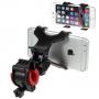 """Univerzální rotační držák na kolo pro Apple iPhone / iPod a další zařízení vel. až 6,3"""" - černý"""