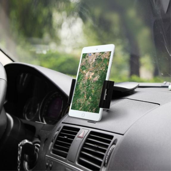 BASEUS univerzální 360° otočný držák na palubní desku auta s přísavkou pro Apple iPad mini / mini 2 / mini 3 / mini 4 – černý - možnost vrátit zboží ZDARMA do 30ti dní