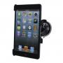 Držák s přísavkou do auta pro Apple iPad mini / mini 2 / mini 3 - 360° rotační - černý