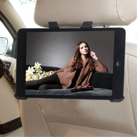 AppleKing držák na opěrku do auta pro Apple iPad mini / mini 2 / mini 3 – černý - možnost vrátit zboží ZDARMA do 30ti dní