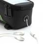 Sportovní pouzdro na kolo s úložným prostorem a reflexním pouzdrem pro Apple iPhone 6 Plus / 6S Plus / 7 Plus - černo-zelené