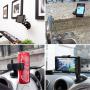 Univerzální rotační klipsnový držák do auta pro Apple iPhone a podobná zařízení - černý