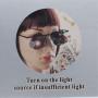 Brýle s výklopnou lupou (20ti násobné zvětšení) a LED osvětlením