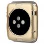 BASEUS Ultra tenké gumové pouzdro pro Apple Watch 38mm (tl. 0.65mm) - zlaté