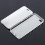 Otevírací / flip gumové pouzdro pro iPhone 6 / 6S - bílé s kočkou