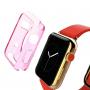 HAWEEL tenký průhledný obal / kryt pro Apple Watch 38mm - růžový