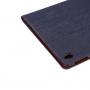 """Luxusní denim / riflové pouzdro s funkcí uspání a prostorem na doklady pro iPad 9.7"""""""