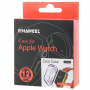 HAWEEL tenký průhledný obal / kryt pro Apple Watch 42mm - fialový