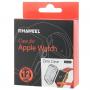 HAWEEL tenký průhledný obal / kryt pro Apple Watch 42mm - šedý
