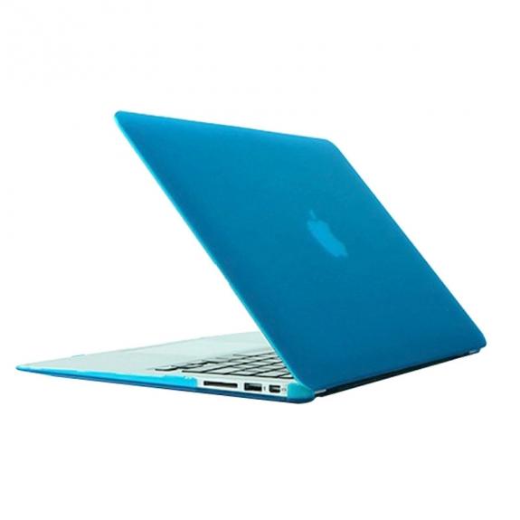 """AppleKing tvrzený ochranný plastový obal / kryt pro Macbook Air 13.3"""" – nebesky modrý - možnost vrátit zboží ZDARMA do 30ti dní"""
