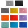 """Tvrzený ochranný plastový obal / kryt pro Macbook Air 13"""" - červený"""